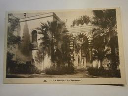 Tunisie La Marsa La Résidence écrite Environ 1915,très Bel éta - Tunisia