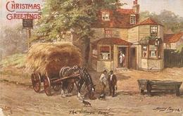 """""""Harry Payne. The Village Inn"""" Tuck Oikette Village Life Series PC  9452 - Tuck, Raphael"""