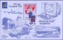 Belgique Bloc 91 MNH** Prix émission 300 Fb (7,44 €) - Blocks & Sheetlets 1962-....