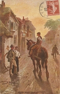 """""""Harry Payne. Their Day Ended"""" Tuck Oikette Village Life Series PC  9452 - Tuck, Raphael"""