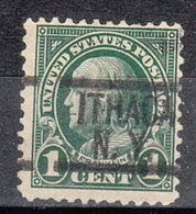 USA Precancel Vorausentwertung Preo, Locals New York, Ithaca 552-548, Perf. Not Perfect - Préoblitérés
