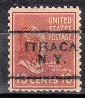 USA Precancel Vorausentwertung Preo, Locals New York, Ithaca 701 - Préoblitérés