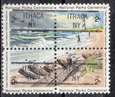USA Precancel Vorausentwertung Preo, Locals New York, Ithaca 841 Hatteras Block - Préoblitérés