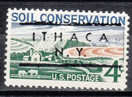 USA Precancel Vorausentwertung Preo, Locals New York, Ithaca L-1 TS, 10 $ Type - Préoblitérés