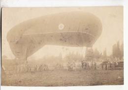 Carte Photo - Dirigeable   :  Achat Immédiat - ( Cd034 ) - Zeppeline