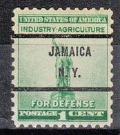 USA Precancel Vorausentwertung Preo, Bureau New York, Jamaica 899-71 - Préoblitérés