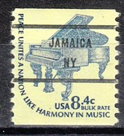 USA Precancel Vorausentwertung Preo, Bureau New York, Jamaica 1615C-81 - Préoblitérés