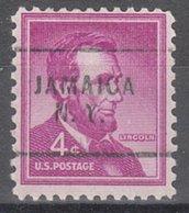 USA Precancel Vorausentwertung Preo, Locals New York, Jamaica 256 - Préoblitérés