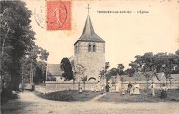 ¤¤   -   TOCQUEVILLE-sur-EU    -  L'Eglise      -   ¤¤ - France