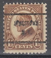 USA Precancel Vorausentwertung Preo, Bureau New York, Jamestown 633-61 - Préoblitérés