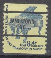 USA Precancel Vorausentwertung Preo, Bureau New York, Jamestown 1615C-87 - Préoblitérés