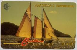177CATC Internet EC$20  With Slash - Antigua And Barbuda