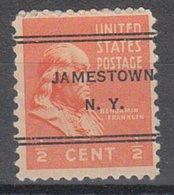 USA Precancel Vorausentwertung Preo, Locals New York, Jamestown 247 - Préoblitérés
