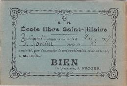 École Libre Saint Hilaire - Diploma & School Reports