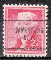 USA Precancel Vorausentwertung Preo, Locals New York, Jamestown 704 - Préoblitérés