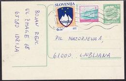 Slovenia, Mixed Franking With Yugoslavia, 1993 - Eslovenia