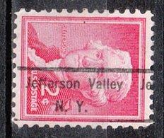 USA Precancel Vorausentwertung Preo, Locals New York, Jefferson Valley 826 - Préoblitérés