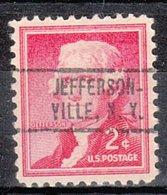 USA Precancel Vorausentwertung Preo, Locals New York, Jeffersonville 736 - Vereinigte Staaten