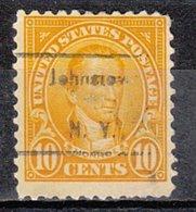 USA Precancel Vorausentwertung Preo, Locals New York, Johnstown 562-462 - Préoblitérés