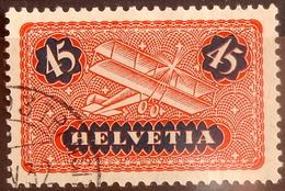 Schweiz Suisse 1923: Doppeldecker / Biplane Zu Flug 8y Mi 183x Yv PA 8 (lisse) Mit O ...3 TRANSIT ?.V.32 (Zu CHF 13.00) - Usados