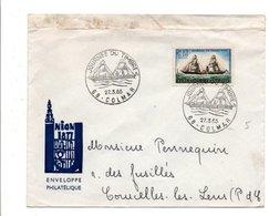 JOURNEE DU TIMBRE - COLMAR 1965 - Cachets Commémoratifs