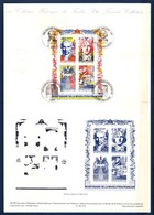 = Bicentenaire De La Révolution Collection Historique De France 1er Jour BFn°12 Timbres 2667 2668 2669 2670 Paris Beaune - Documents Of Postal Services