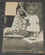 Somali Mother And Child : Voir état ::: Portraits - Femme - Enfant   ---------- 525 - Somalie