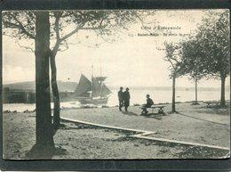 CPA - SAINT MALO - La Sortie Du Port, Animé - Bateau De Pêche - Saint Malo