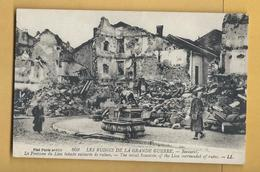 C.P.A. BACCARAT - Ruines De 1914/18 - Baccarat