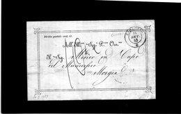 CG28 - Lett. Da Caraglio X Morgex 16/9/1853 - Bollo Doppio Cerchio Sardo Ital. Nero, Busta Ornata + Segni Di Tassa - 1. ...-1850 Prefilatelia