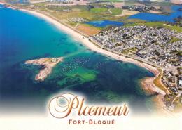 PLOEMEUR L Ilot La Plage Et L Agglomeration De Fort Bloque Au Fond L Etang Lannenec 16(scan Recto-verso) MA1266 - Ploemeur
