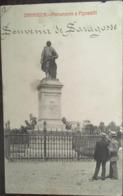 Cpa, ZARAGOZA, Fototipia Castaneira Y Alvarez, Monumento à Pignatelli, écrite En 1911, ESPAGNE - Zaragoza