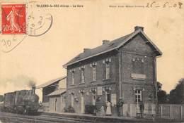 CPA 02 VILLIERS LE SEC LA GARE - France