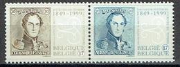Journée Du Timbre : 150ème Anniversaire Des Premiers Timbres-poste Belges (timbres Se Tenant) - Unused Stamps