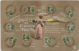 TIMBRES.  LE LANGAGE DU TIMBRE ORACLE DES CACHETS - Stamps (pictures)
