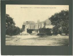 37 Savonnières Le Chateau Des Mazeraies Vue De Côté édit. Vve Brault N° 1 - Other Municipalities