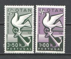 Portugal 1960 Mi 878-879 MNH NATO - Nuevos