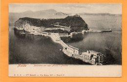 Nisida Italy 1900 Postcard - Otras Ciudades