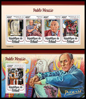 CHAD 2020 - Pablo Picasso M/S + S/S. Official Issue [TCH200112] - Chad (1960-...)