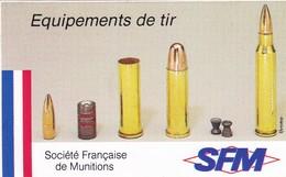 Autocollant Publicitaire - Tir Sportif - Armes - Equipement De Tir - SFM, Société Française De Munitions - Stickers