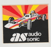 Sticker: Formula 1 - Formule 1 Audio Sonic - Automobile - F1