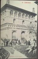 Cpa, ZARAGOZA, Fototipia Madriguera, N° 10, Exterior De La Lonja, (animacion, Animée) écrite En 1912, Espagne - Zaragoza