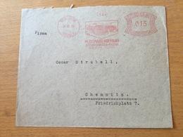 FL3525 Deutsches Reich 1930 Brief Mit Afs Von Thalheim Nach Chemnitz - Covers & Documents