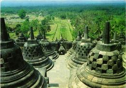 CPM AK View From The Borobudur Temple INDONESIA (726518) - Indonesien