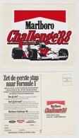 Sticker: Formula 1 - Formule 1 Challenge 1988 Marlboro Ford Good-year - Automobile - F1