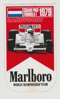 Sticker: Formula 1 - Formule 1 Challenge 1979 Marlboro Grand-prix Zandvoort (NL) - Automobile - F1