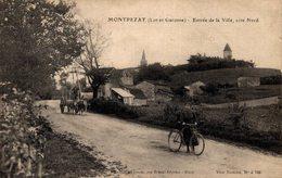 14082     MONTPEZAT   ENTREE DE LA VILLE COTE NORD - Autres Communes