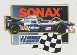 Sticker: Formula 1 - Formule 1 Sonax Rothmans Official Supplier Williams Sanyo Good-year - Automobile - F1