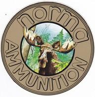 Autocollant Publicitaire - Tir Sportif - Armes - Munitions - NORMA AMMUNITION - Stickers