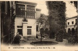 CPA AK Constantine- Cour Intérieur Du Palais Dar El Bey, ALGERIE (793941) - Constantine